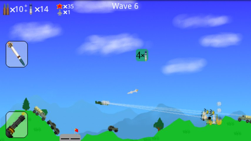 A-10 mode screenshot